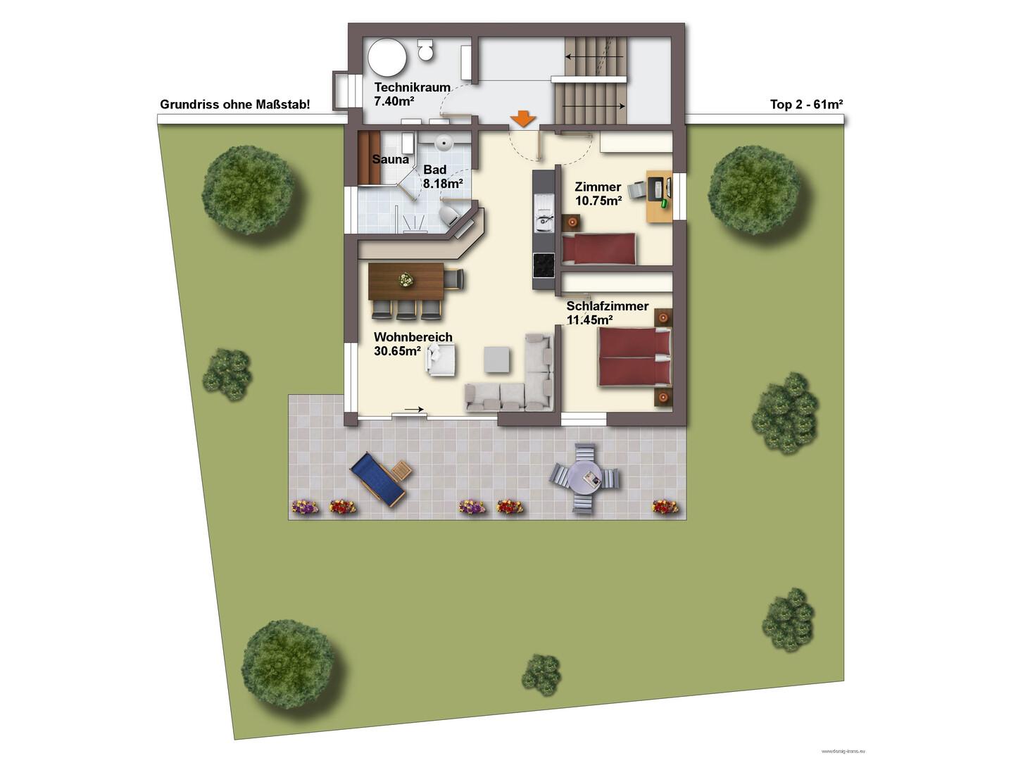 ferienwohnung kauf 75 m 4 zimmer 6707 b rserberg ort obj nr 870. Black Bedroom Furniture Sets. Home Design Ideas